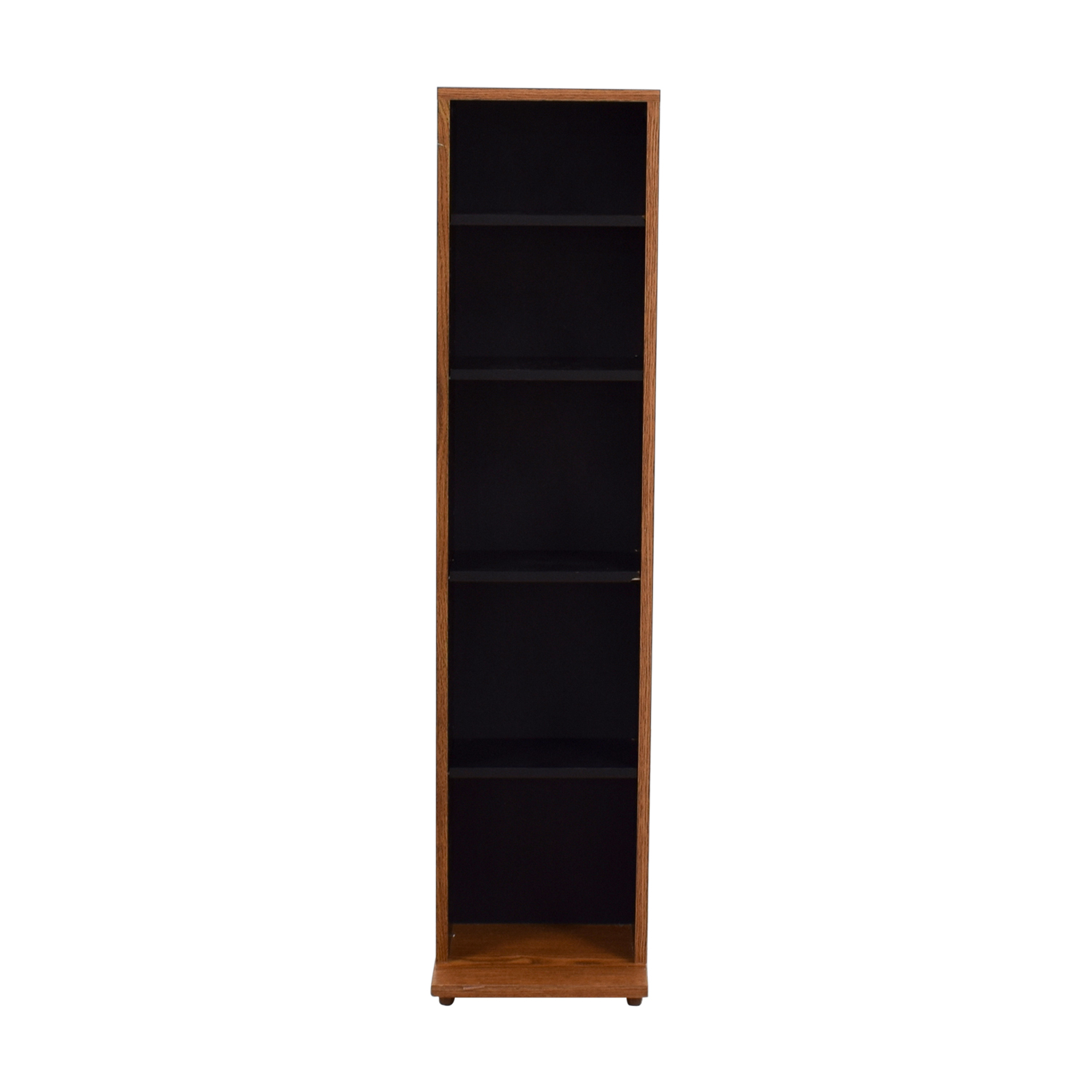 Wood Bookcase Brown