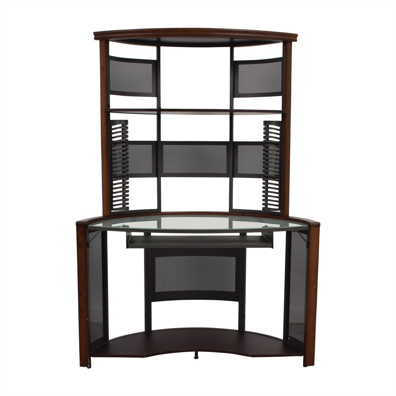 Corner Desk with Hutch sale