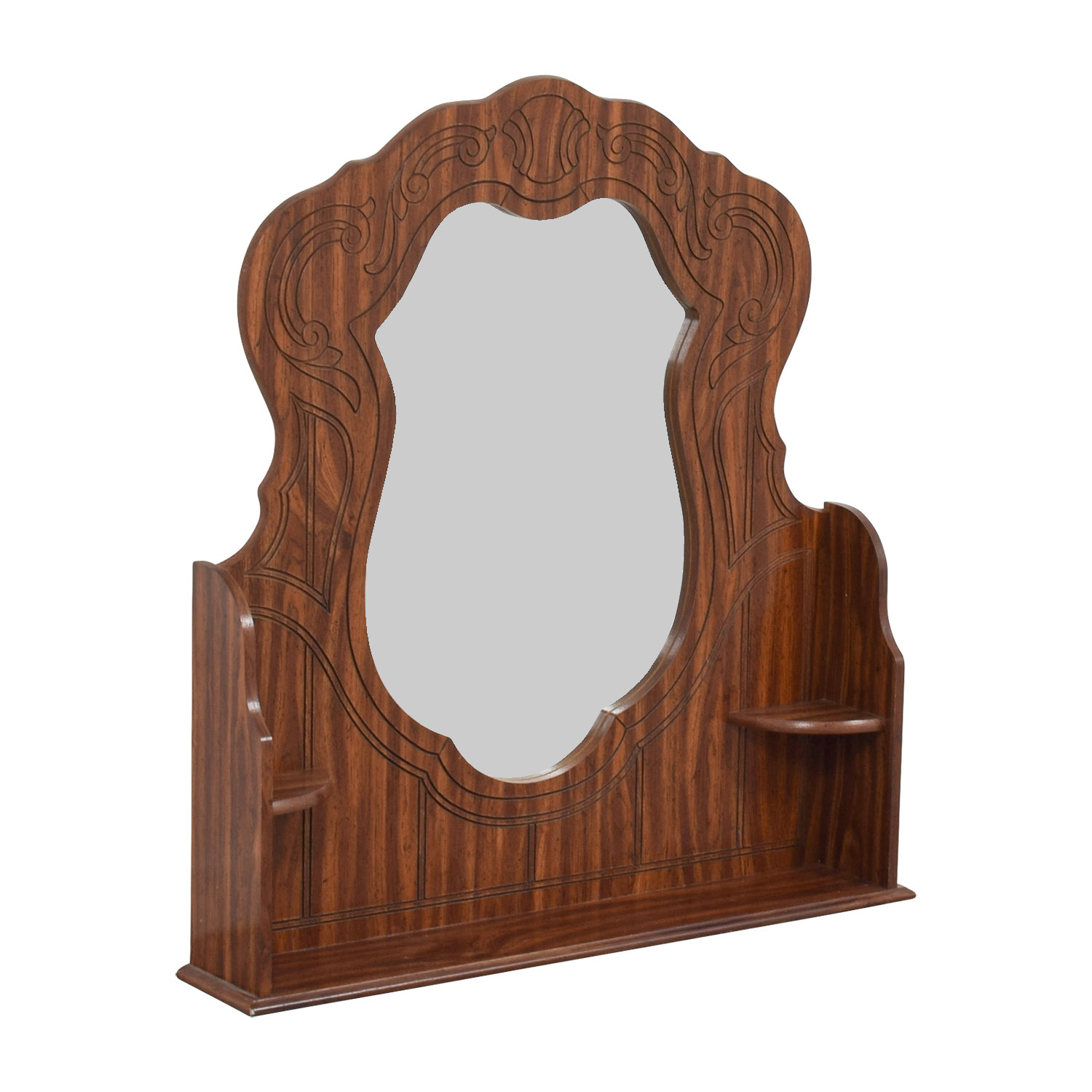 Wood Mirror for Dresser used