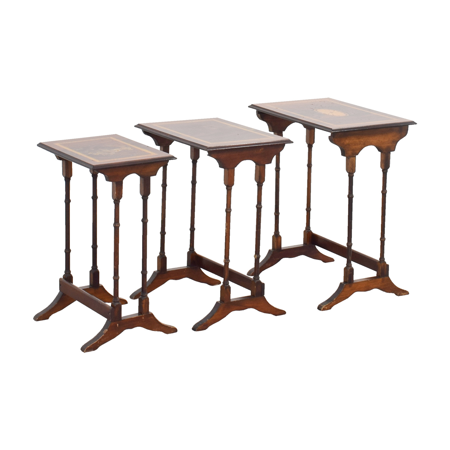 Wood Nesting Tables discount