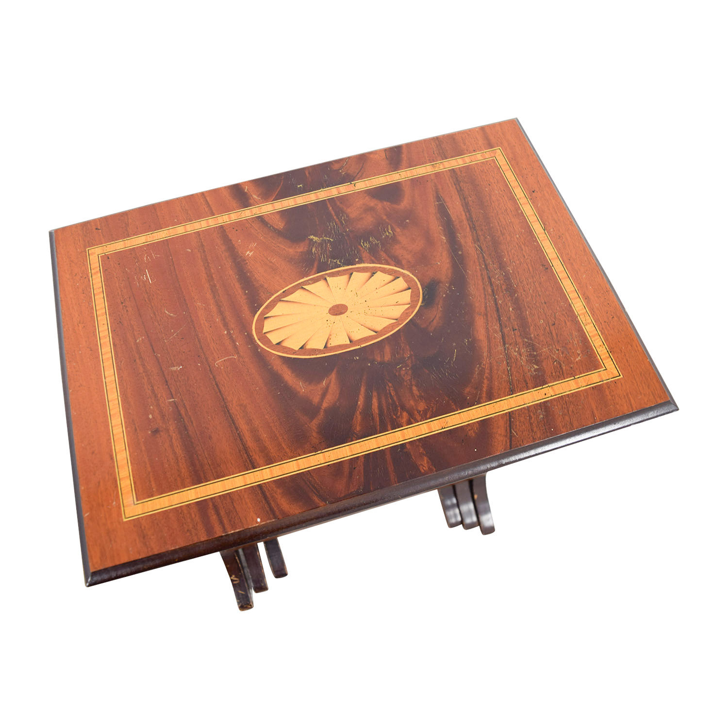 Wood Nesting Tables nyc