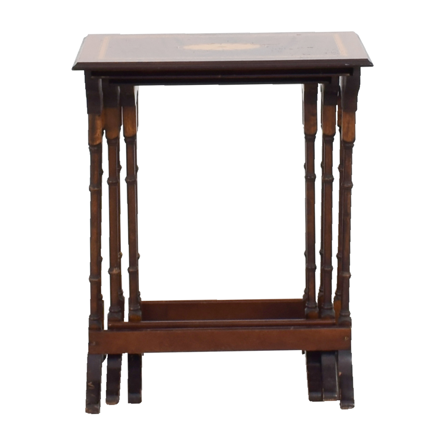 Wood Nesting Tables sale