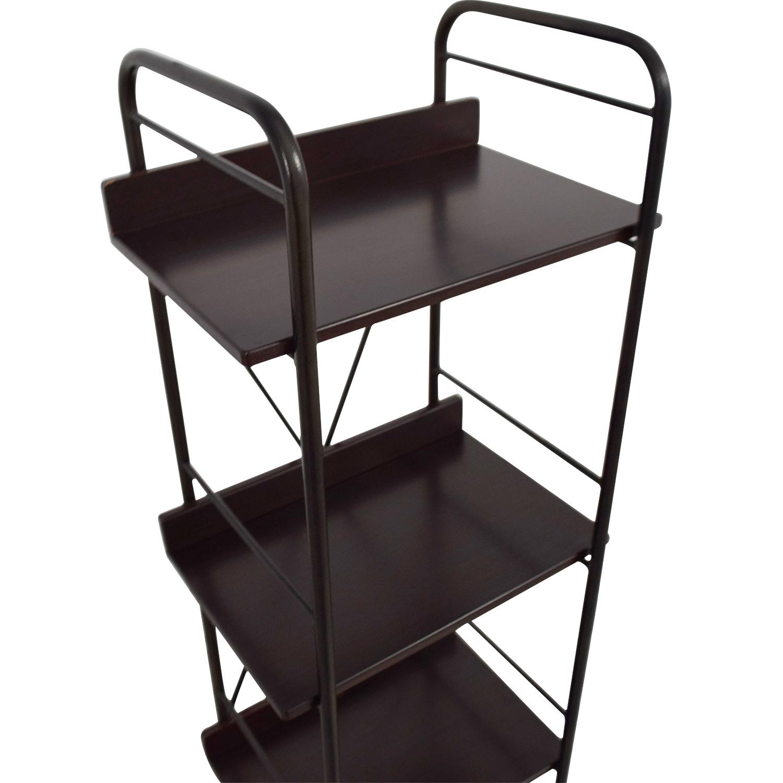 shop Black Tall Bookcase