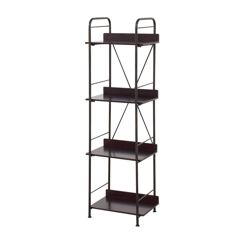 Black Tall Bookcase price