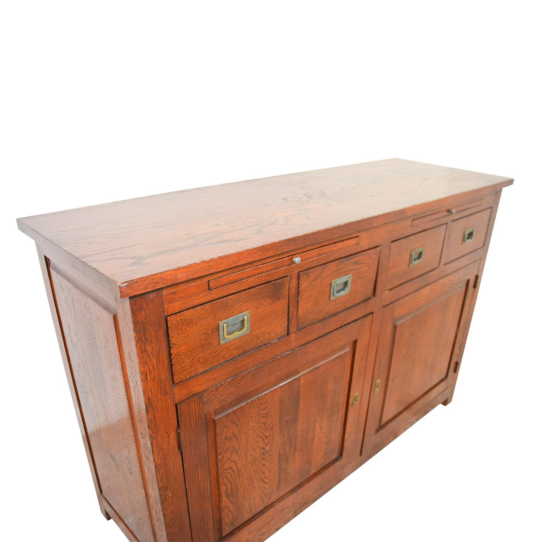 buy Crate & Barrel Crate & Barrel Wooden Buffet online