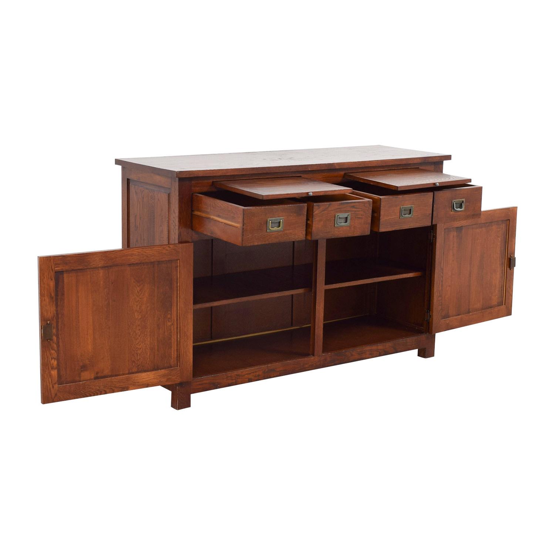shop Crate & Barrel Wooden Buffet Crate & Barrel Cabinets & Sideboards