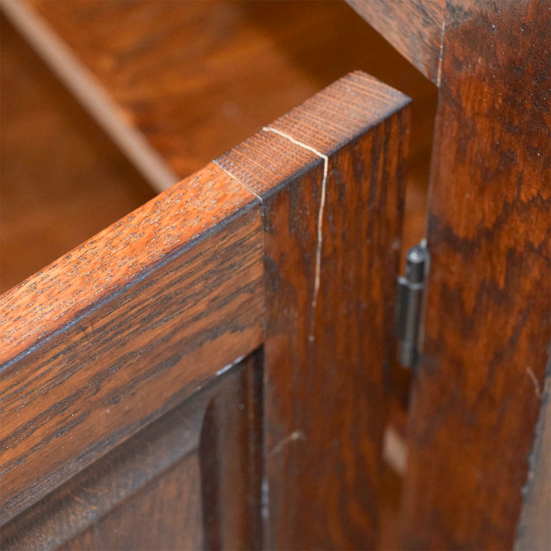 Crate & Barrel Crate & Barrel Wooden Buffet Cabinets & Sideboards