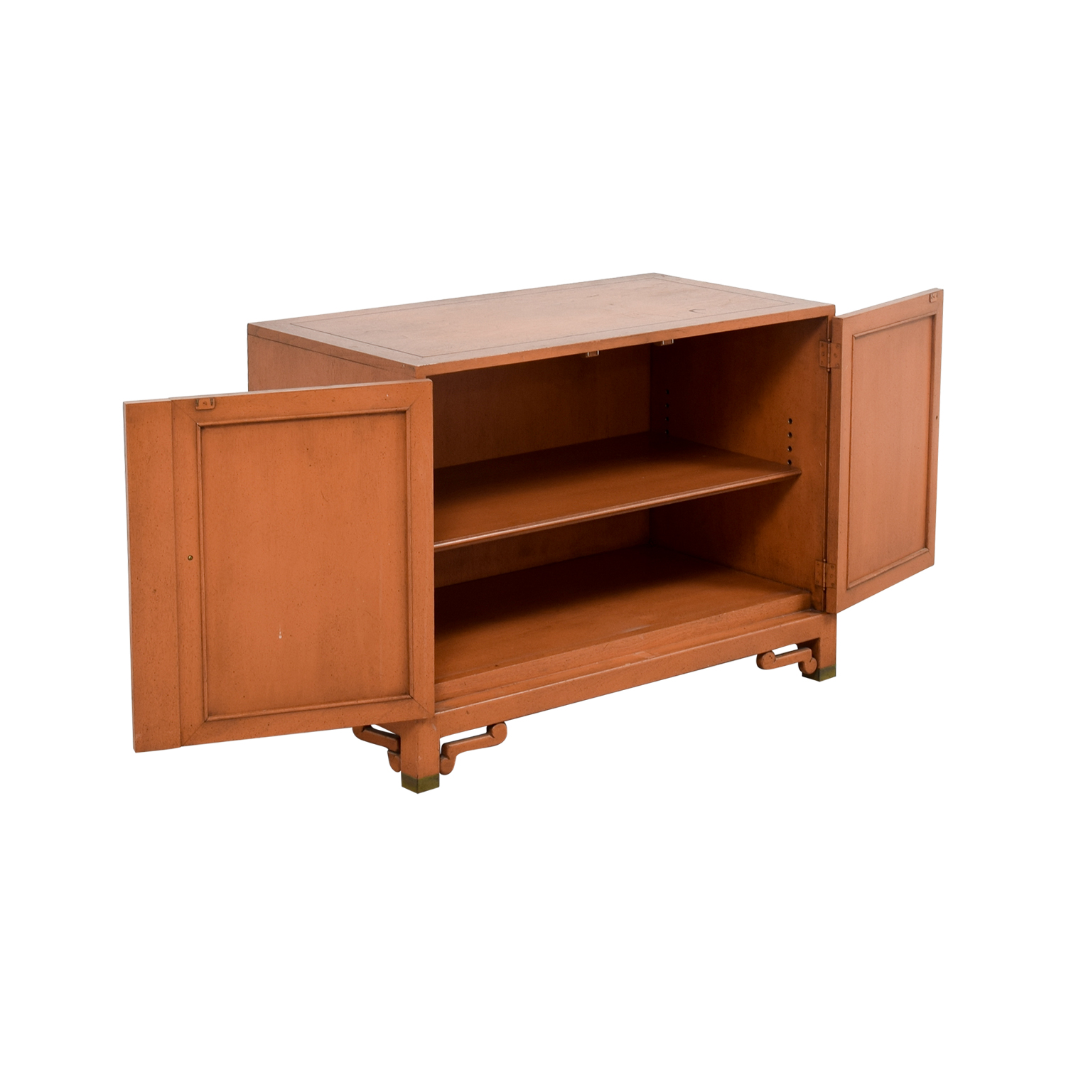 Unknown Wood Cabinet with Two Shelves price