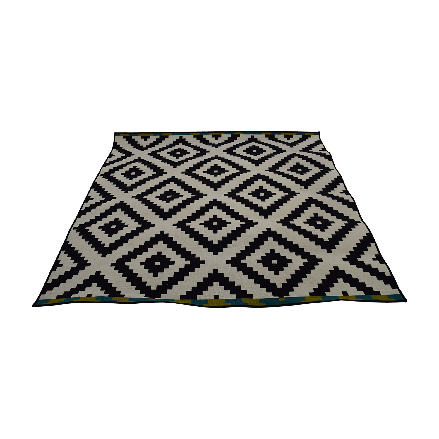 IKEA Black and White Rug / Rugs
