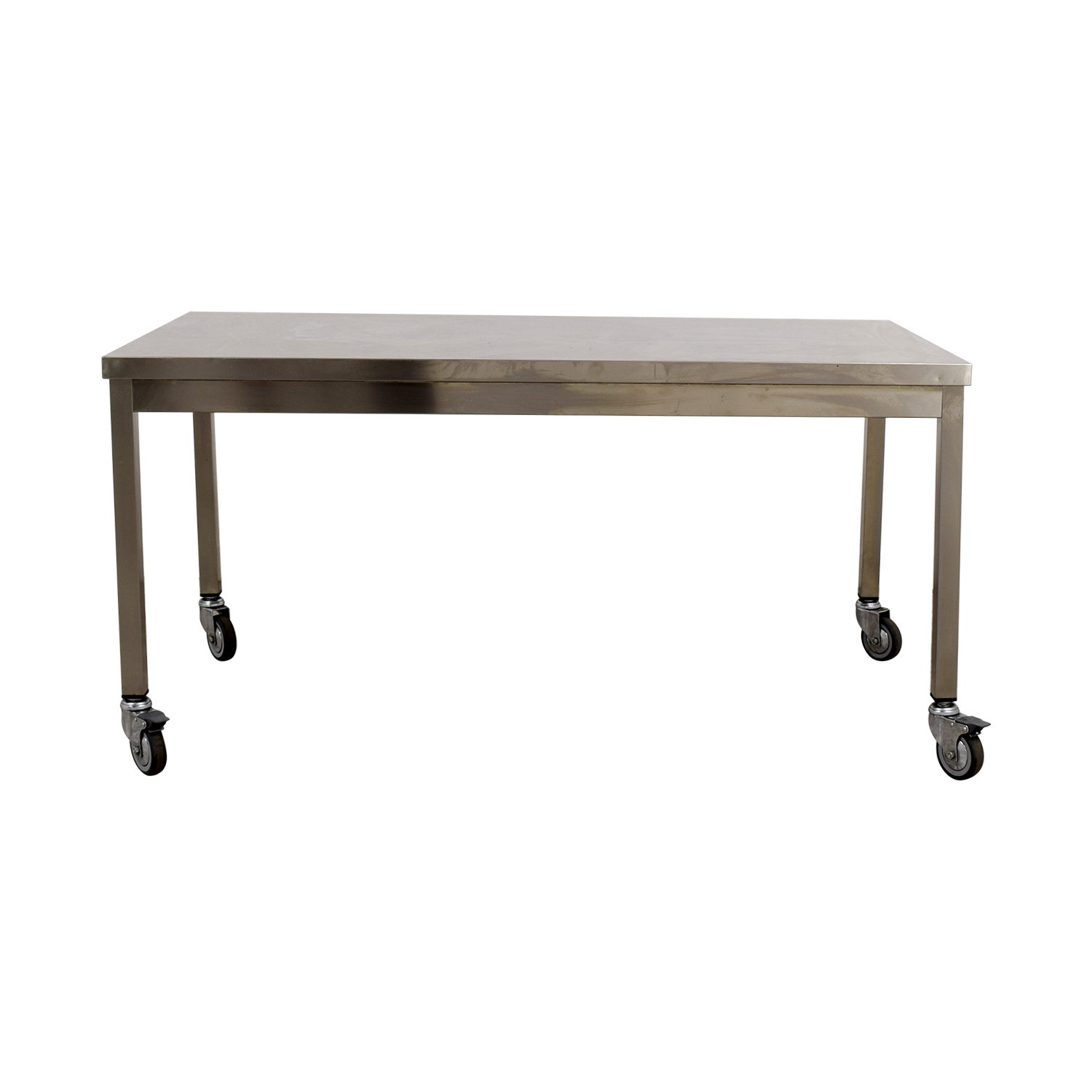 shop Wheeled Utility Metal Table