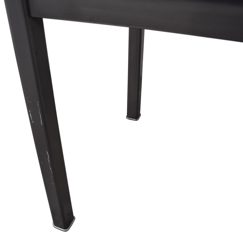 Sonrisa Furniture Sonrisa Furniture Grey Metal Table discount
