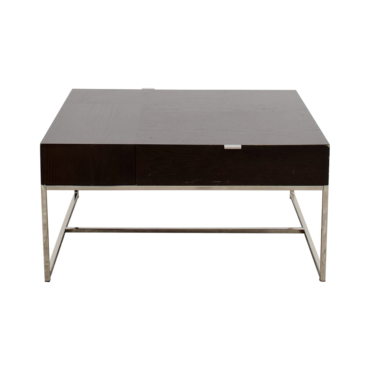 shop West Elm Square Coffee Table with Drawers West Elm Tables