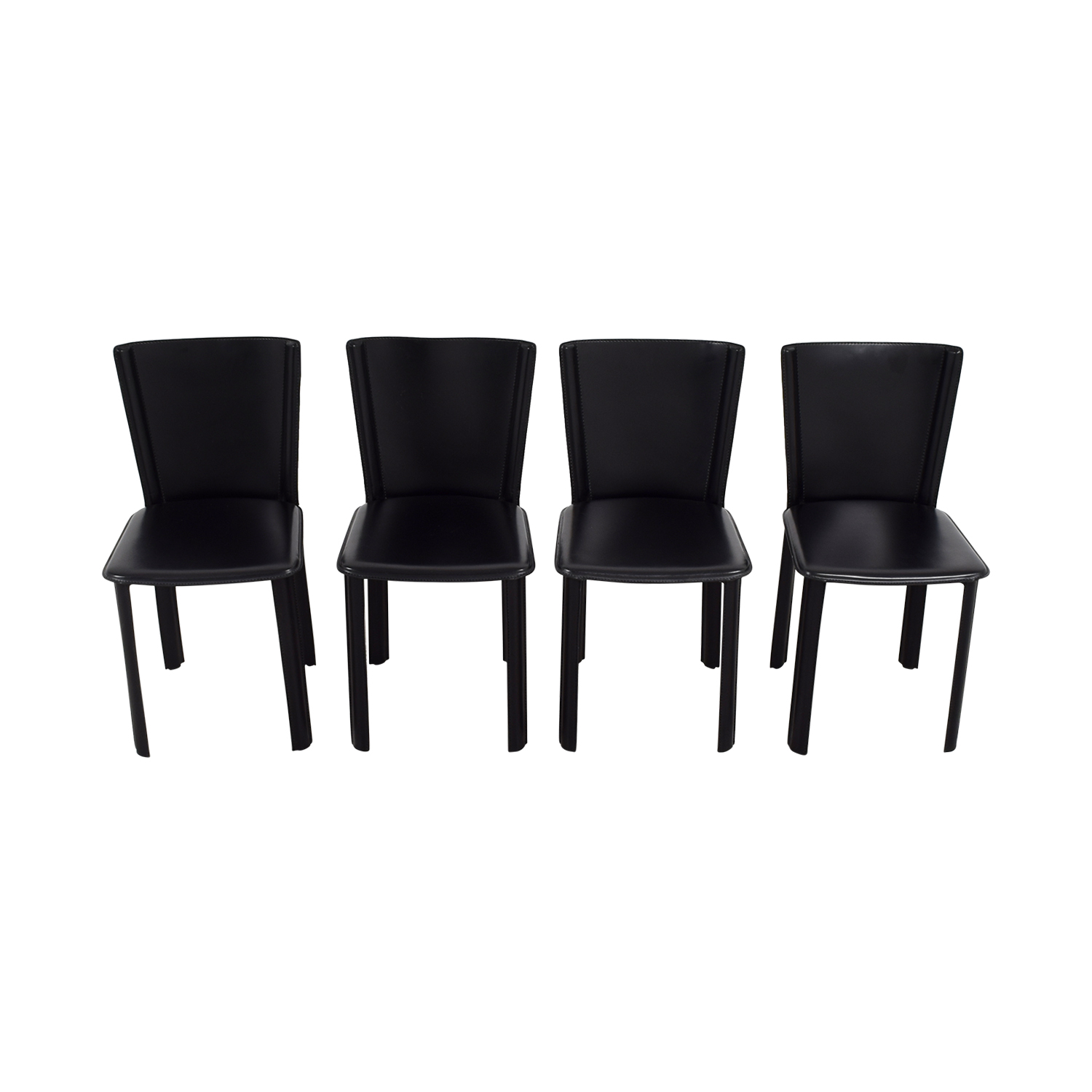 Design Within Reach Design Within Reach Allegro Black Dining Chairs discount