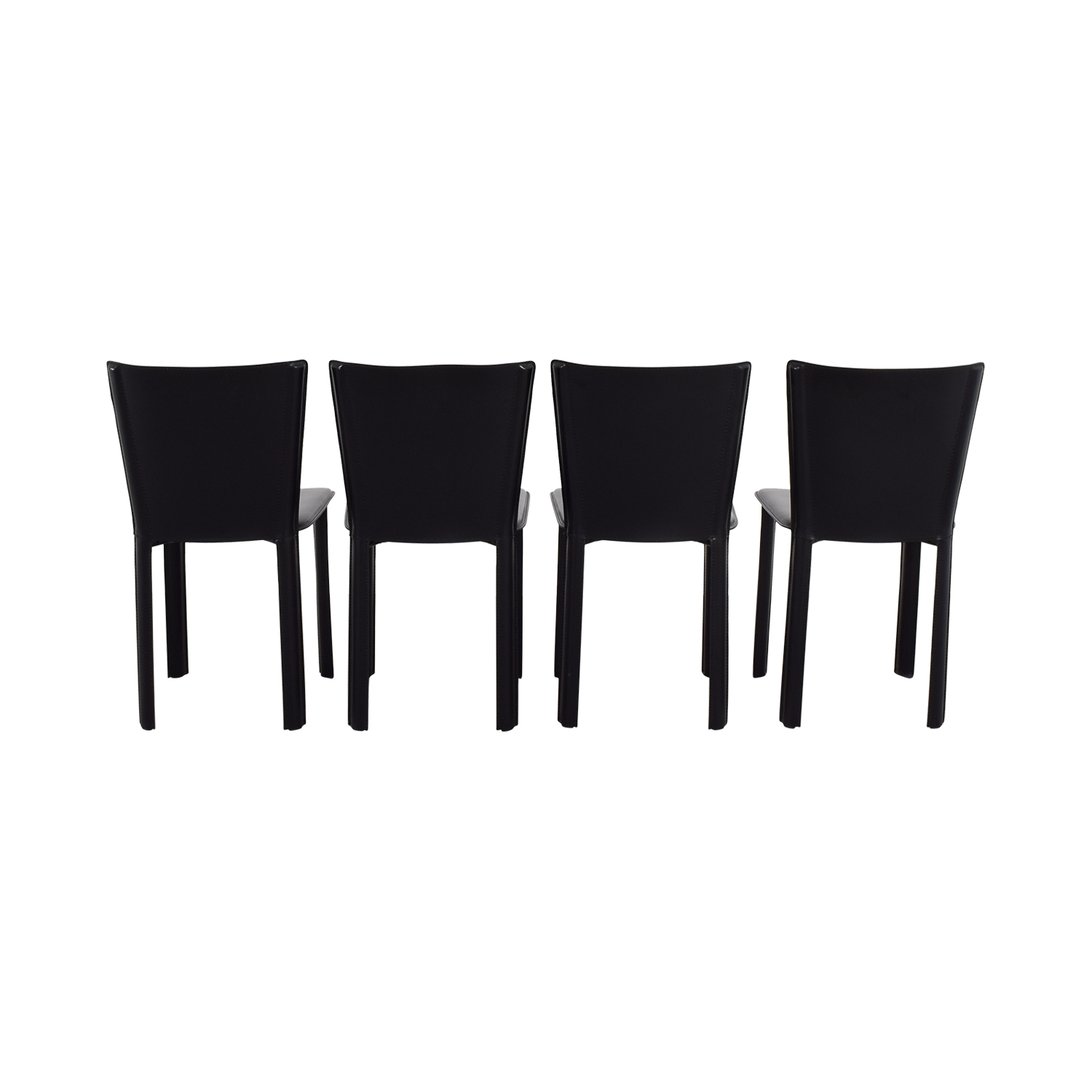 Design Within Reach Design Within Reach Allegro Black Dining Chairs Dining Chairs