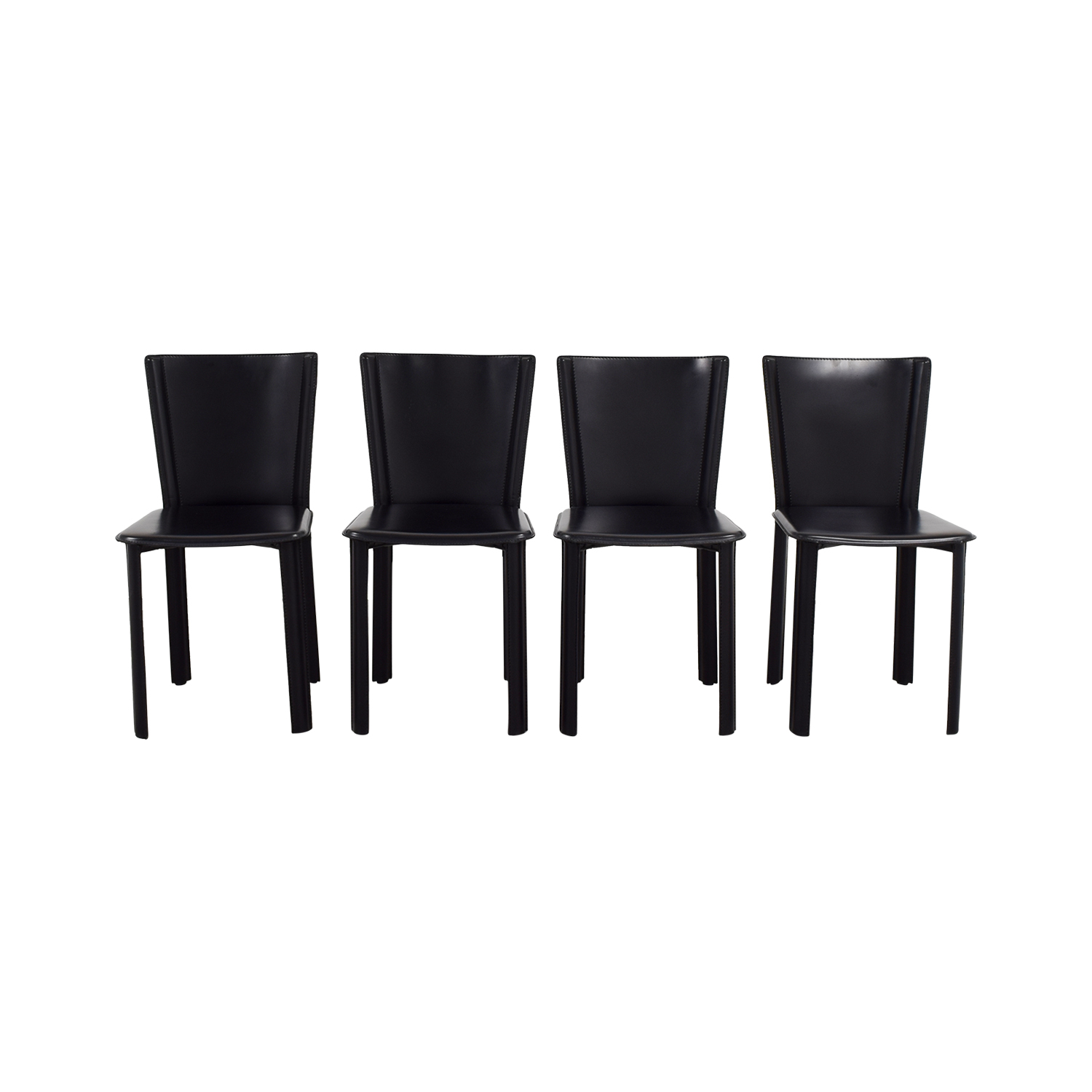Design Within Reach Allegro Black Dining Chairs / Dining Chairs