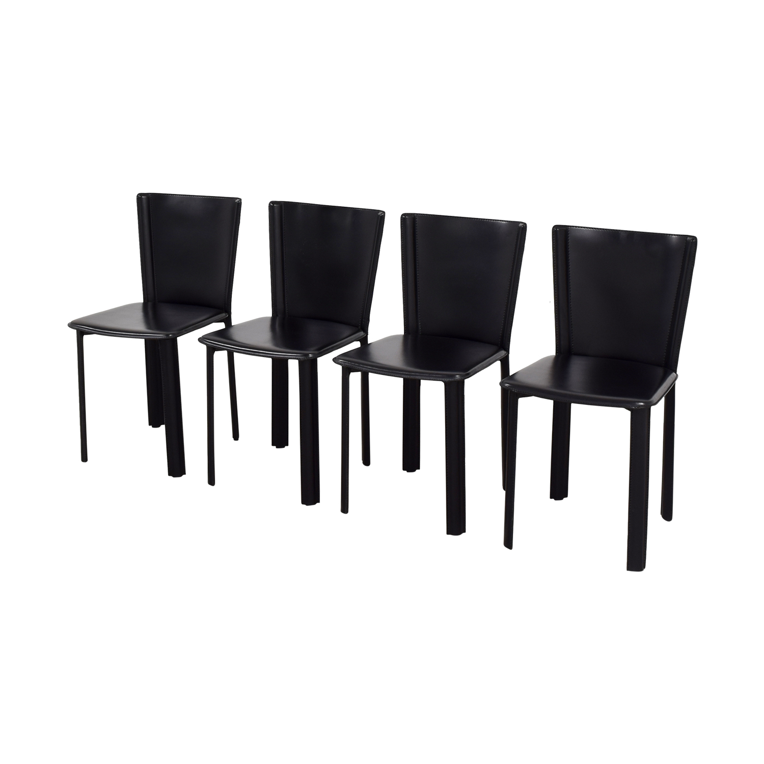 68 off design within reach design within reach allegro black dining chairs chairs - Design within reach bed frame ...