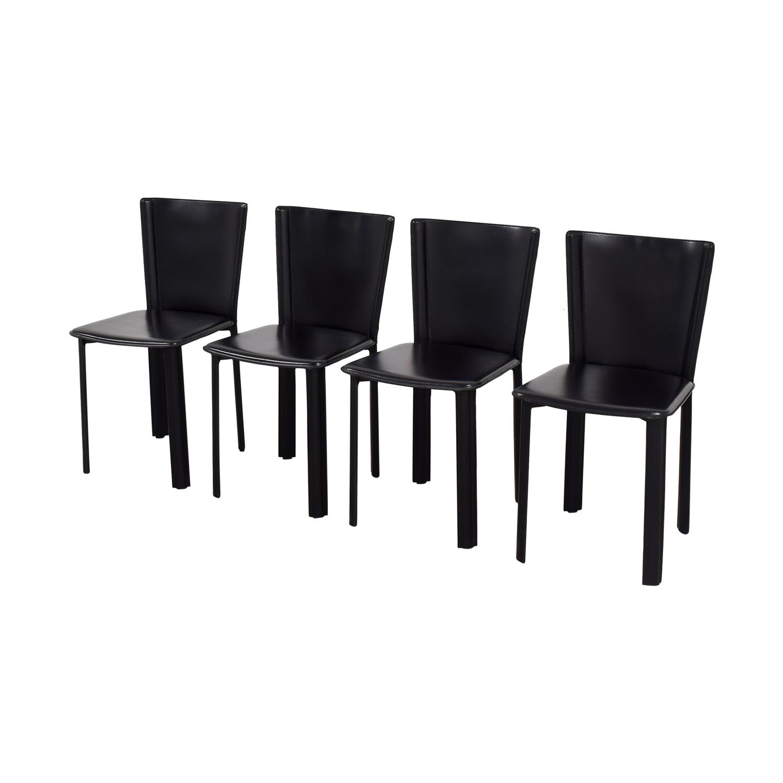 buy Design Within Reach Design Within Reach Allegro Black Dining Chairs online