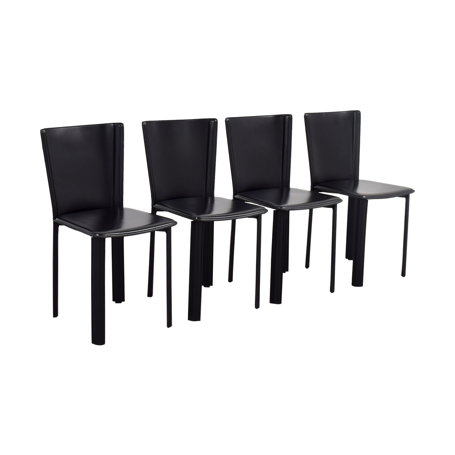 79 off design within reach design within reach allegro black dining chairs chairs. Black Bedroom Furniture Sets. Home Design Ideas