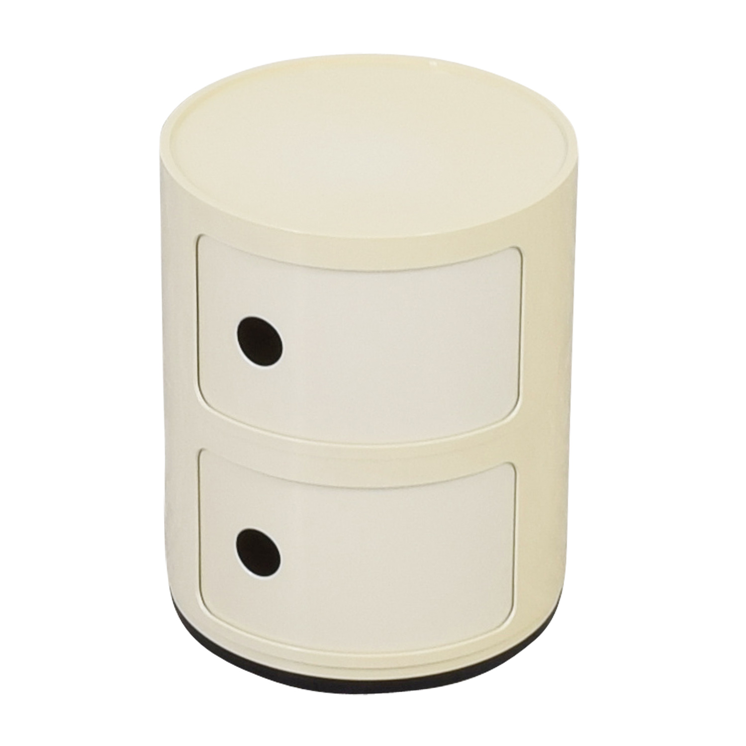 ... Buy Kartell Componibili Vanilla Round Storage End Table Kartell Tables  ...
