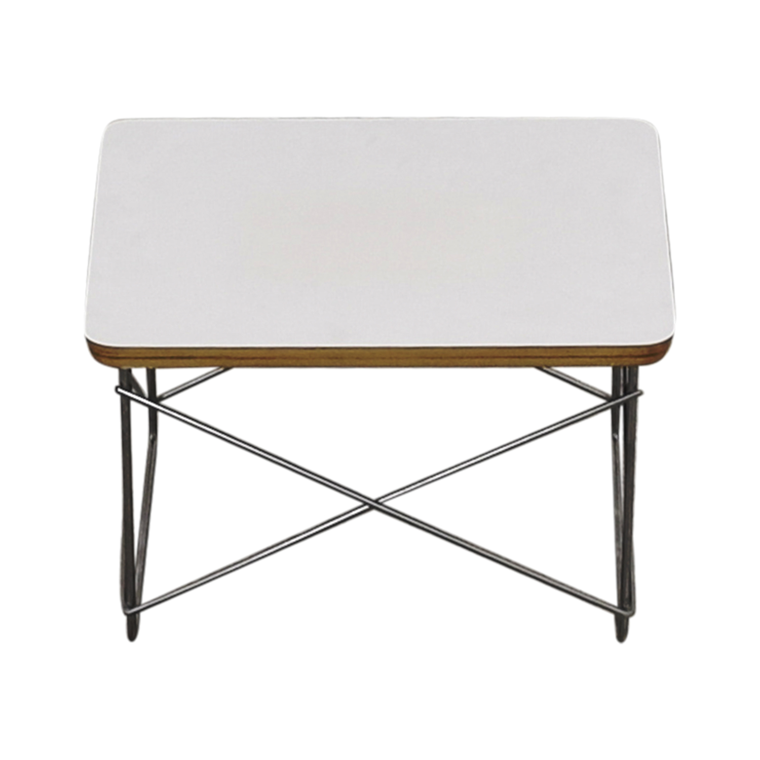 buy Herman Miller Eames Wire-Base Table Herman Miller Accent Tables