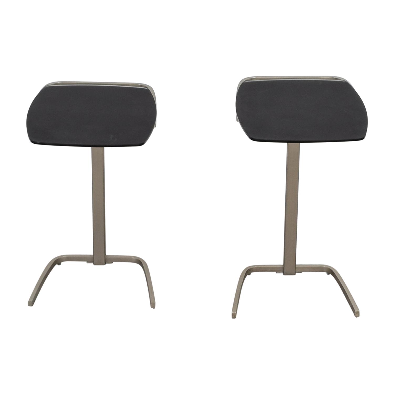 buy BoConcept Black & Chrome Nesting Tables BoConcept End Tables