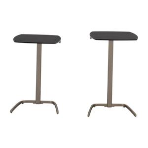 BoConcept BoConcept Black & Chrome Nesting Tables dimensions