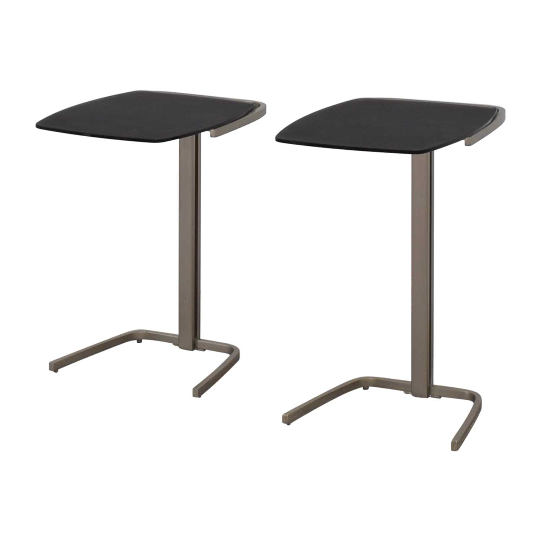 BoConcept BoConcept Black & Chrome Nesting Tables nj