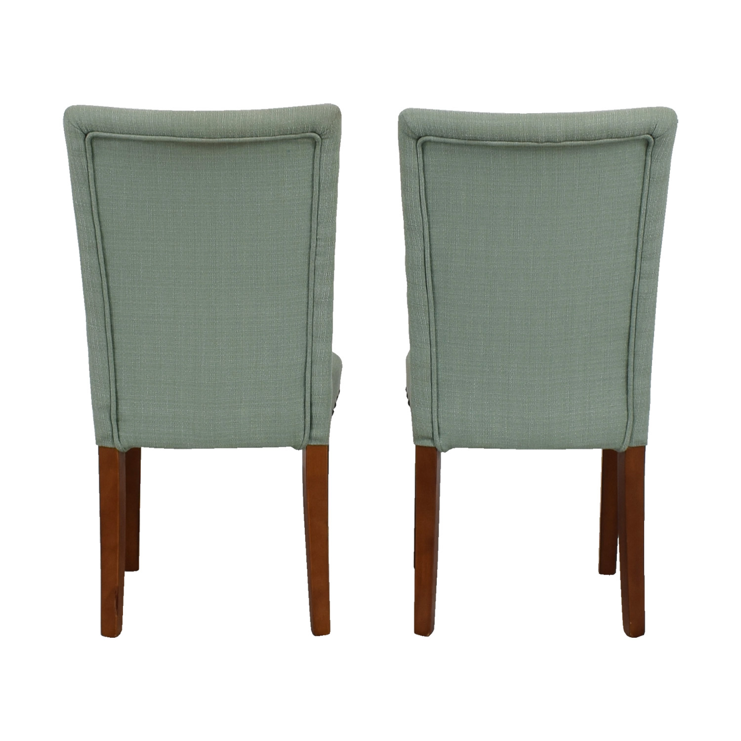 buy Seafoam Upholstered Nailhead Chairs
