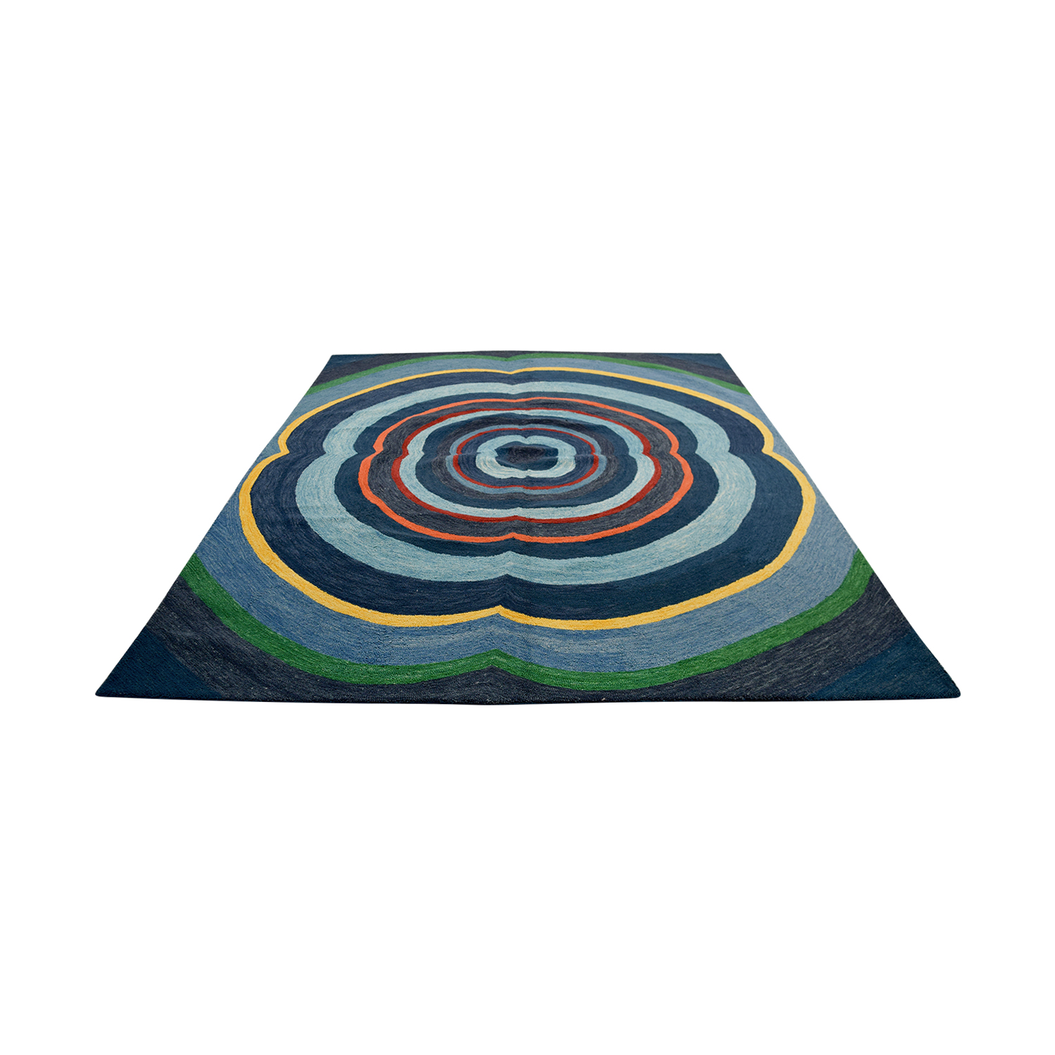 Obeetee Obeetee Annapolis Blue Hand Hooked Rug