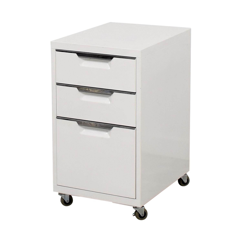 shop CB2 Filing Cabinet CB2