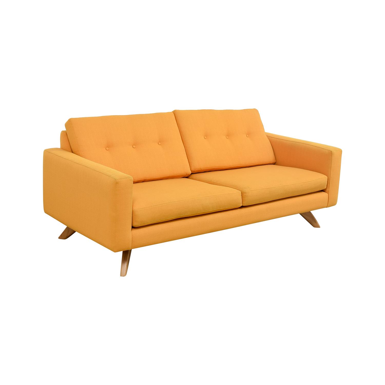 True Modern True Modern Luna Mid-Century Citrus Sofa nj