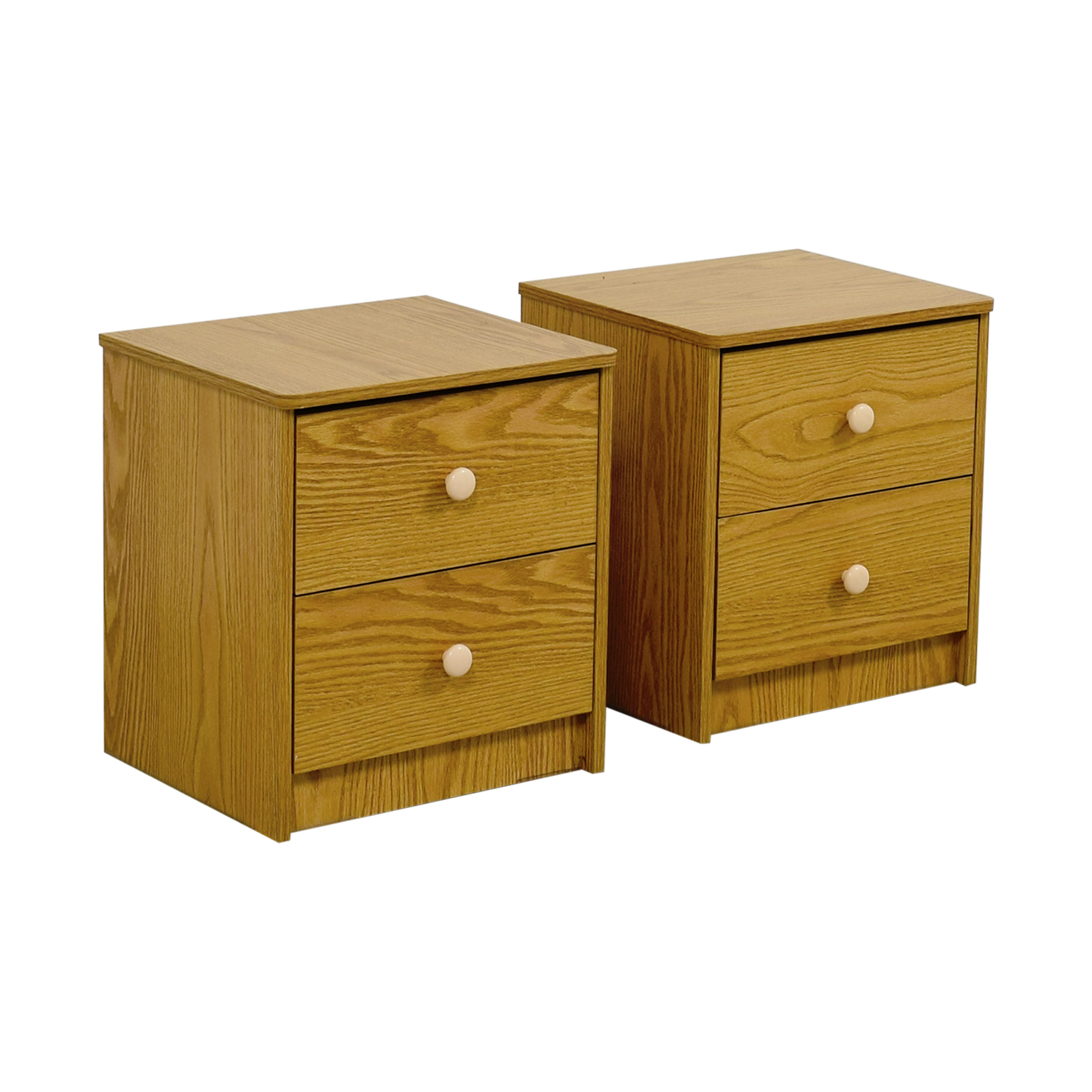 Natural Wood End Tables End Tables
