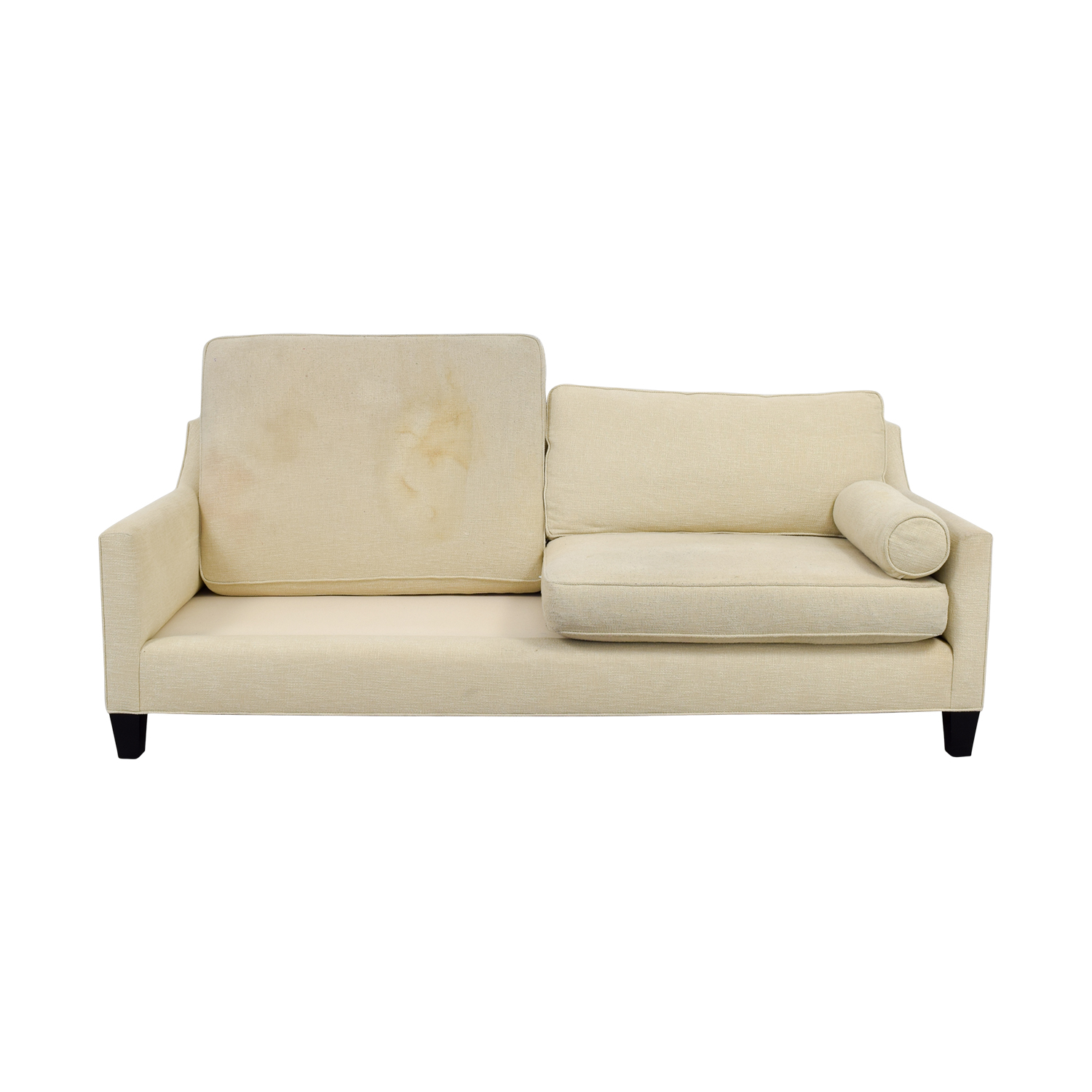 90 off bsc furniture bsc furniture beige two cushion - Beiges sofa welche wandfarbe ...