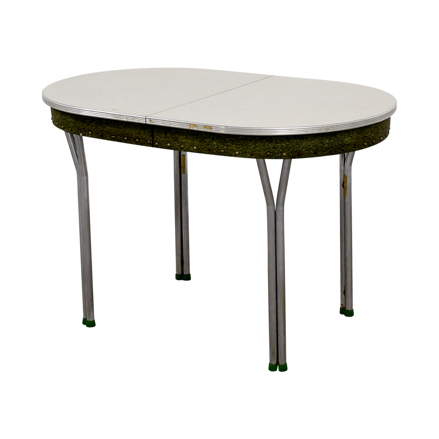 shop Vintage 1950s Green Formica Table with Inserts