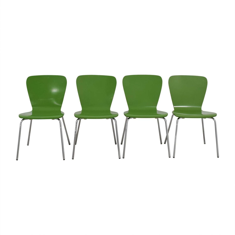 Crate & Barrel Crate & Barrel Felix Chairs discount