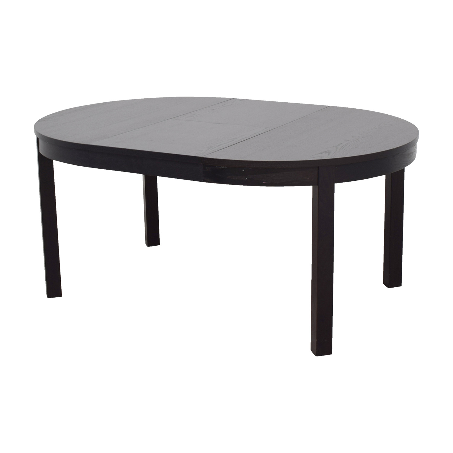 68 Off Ikea Ikea Bjursta Extendable Round To Oval Dining Table Tables
