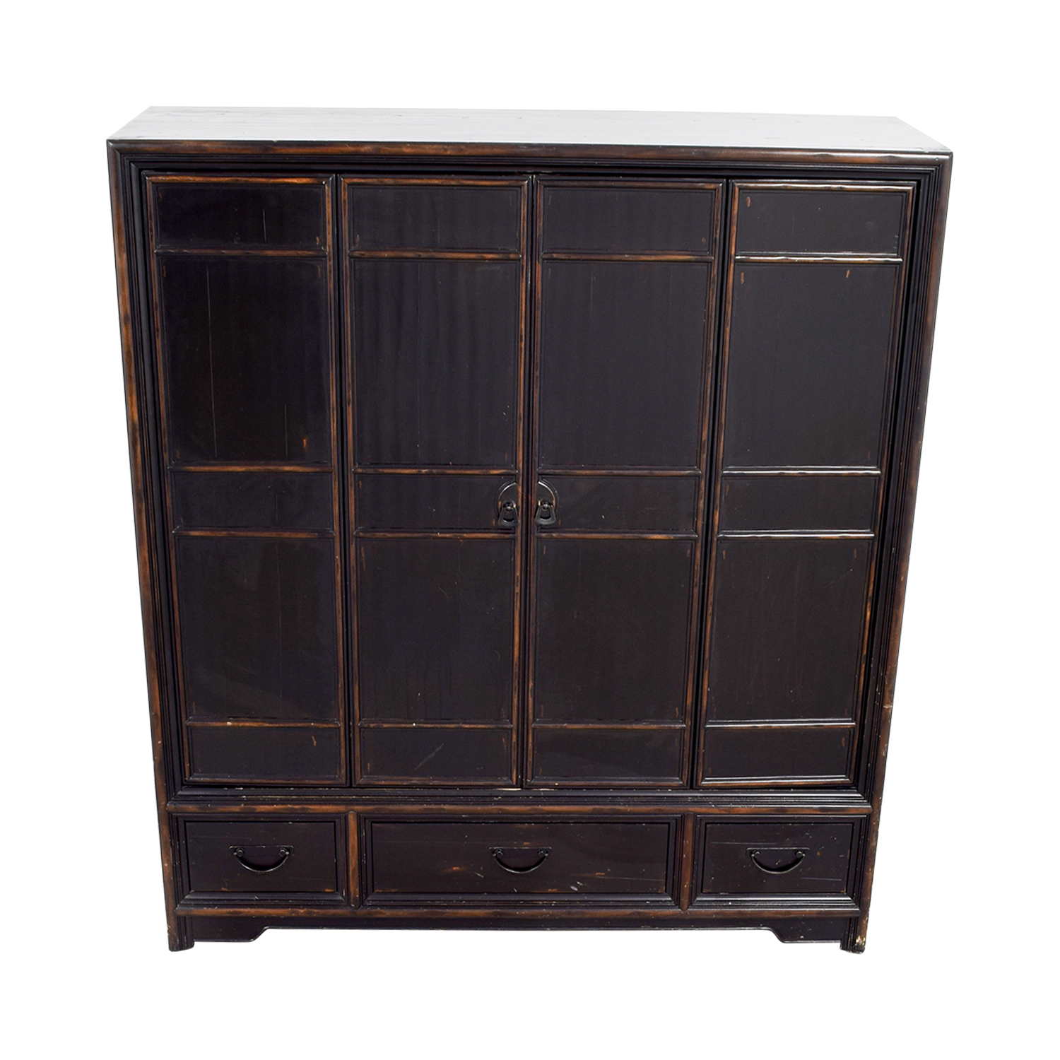 Ethan Allen Ethan Allen Wood Media Cabinet Storage