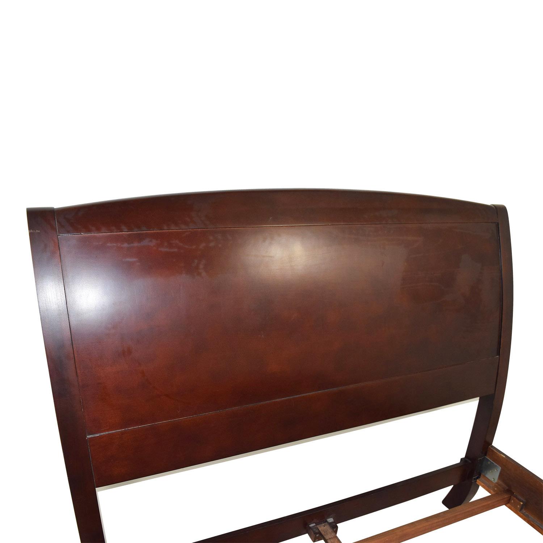 buy Zocalo Zocalo Queen Modern Sleigh Bed Frame online
