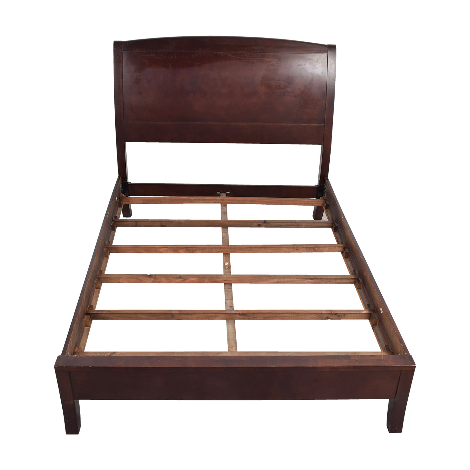 Zocalo Zocalo Queen Modern Sleigh Bed Frame second hand