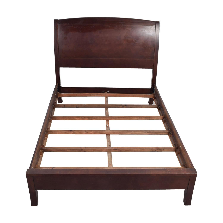 Zocalo Zocalo Queen Modern Sleigh Bed Frame used