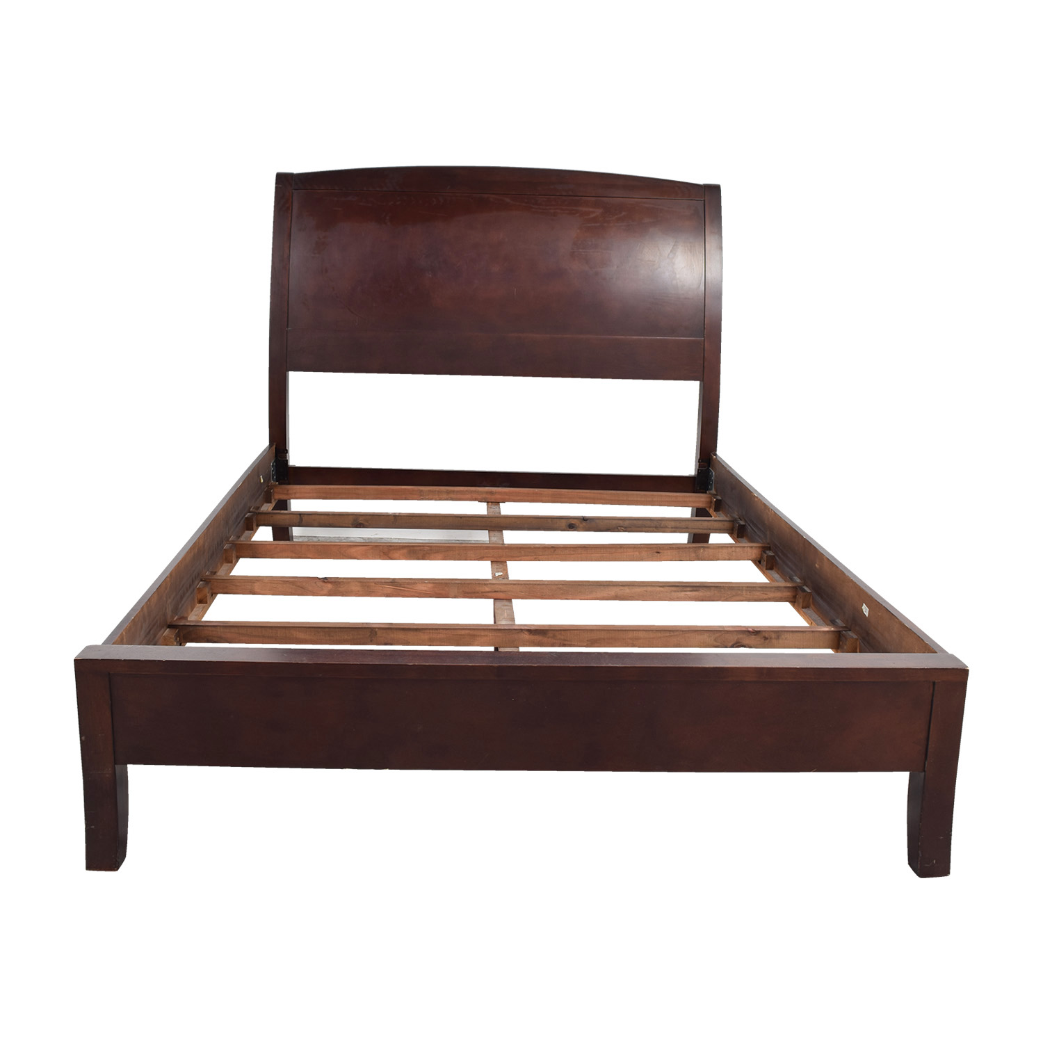 shop Zocalo Queen Modern Sleigh Bed Frame Zocalo Bed Frames