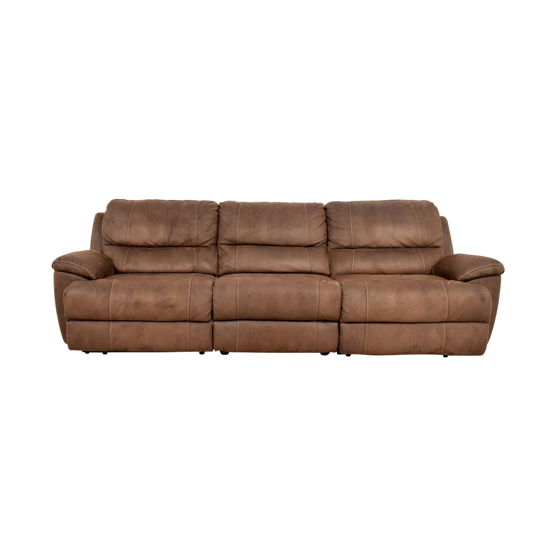 Havertys Havertys Reclining Sofa Sofas