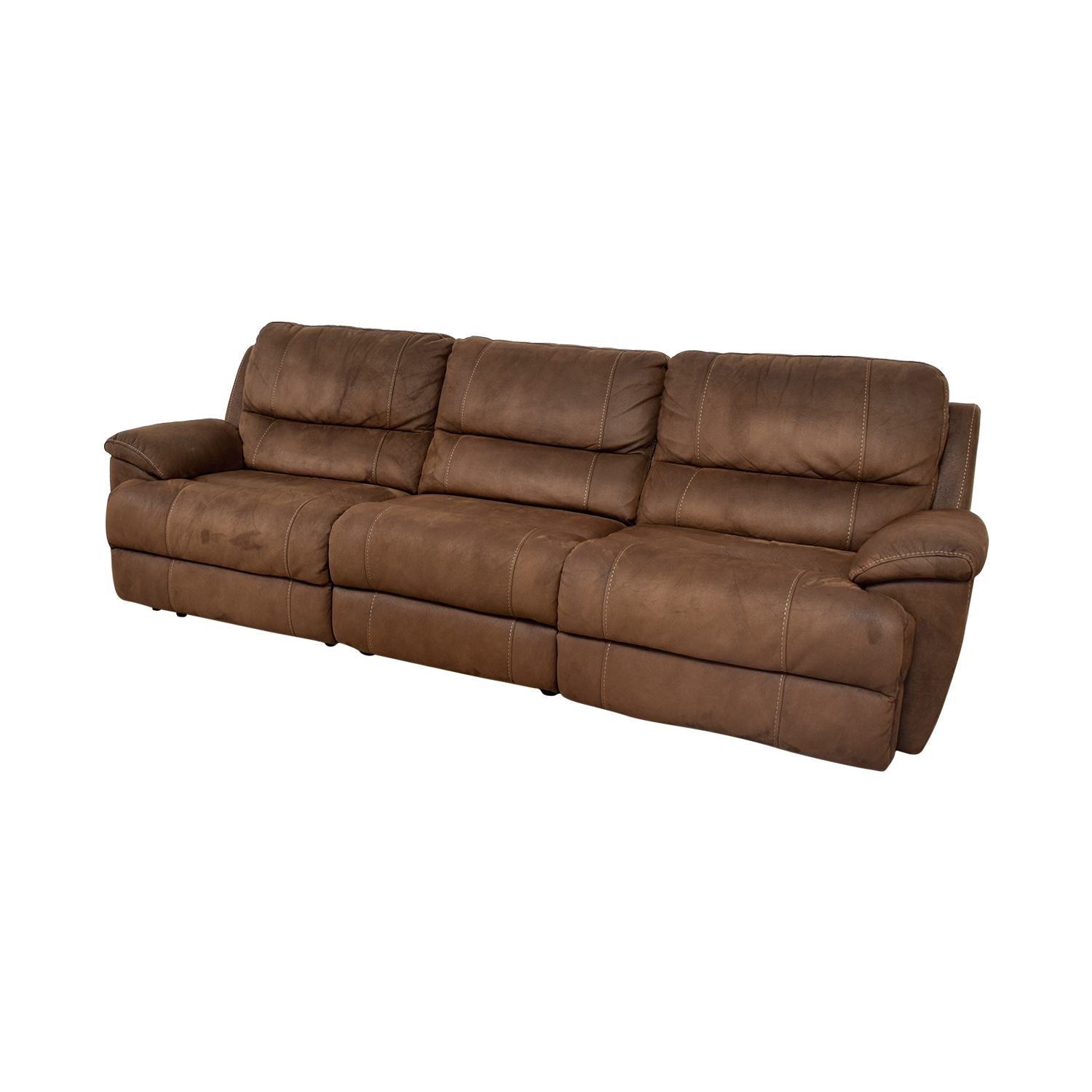 88% OFF - Haverty's Haverty's Reclining Sofa / Sofas