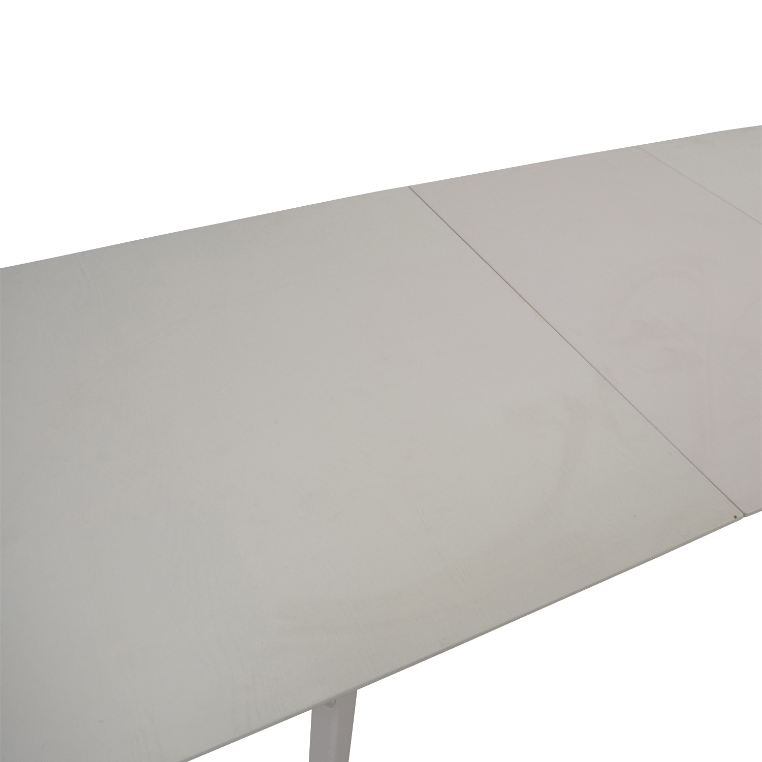 West Elm West Elm Mid Century White Expandable Dining Table price