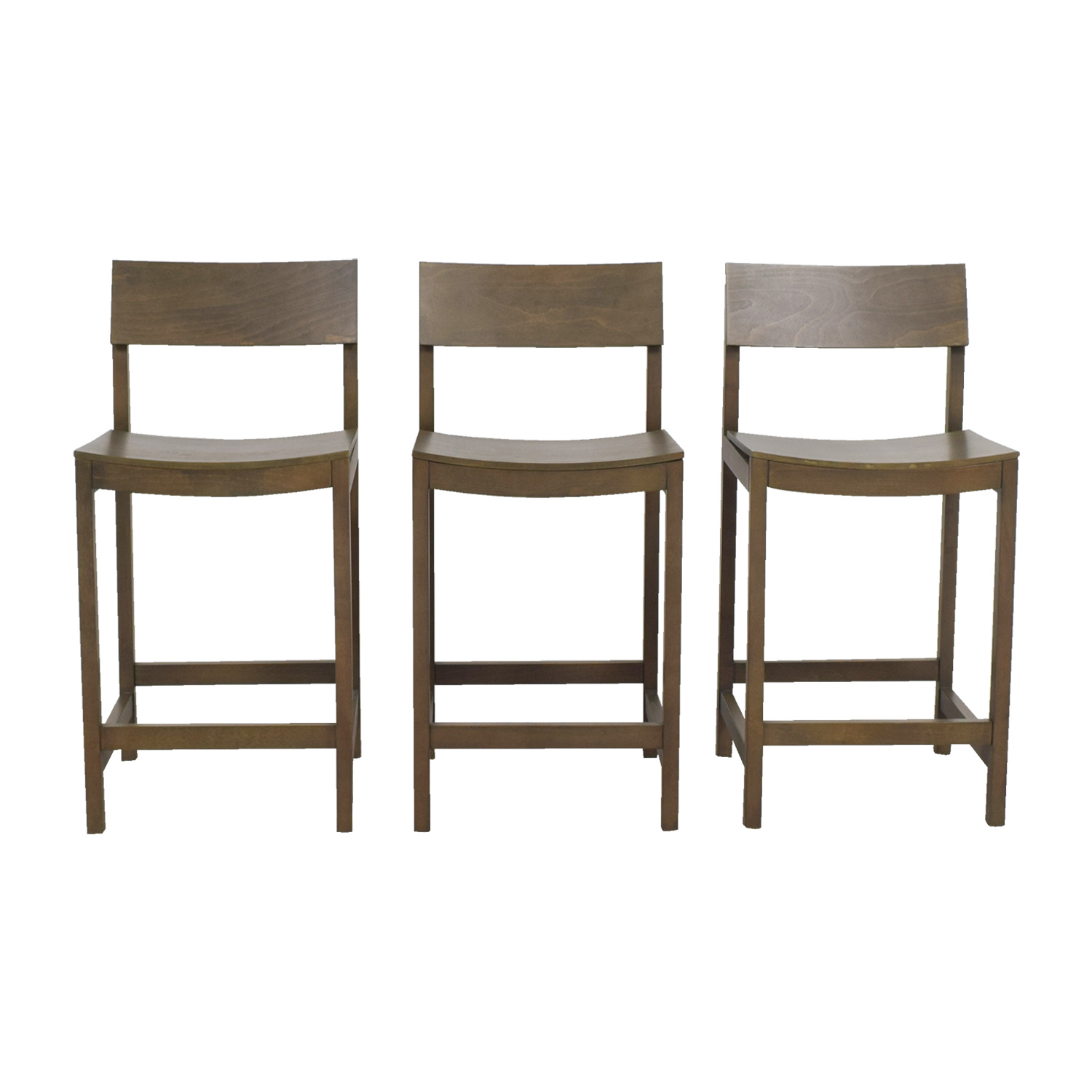 CB2 CB2 Slide Grey Tan Counter Stools coupon