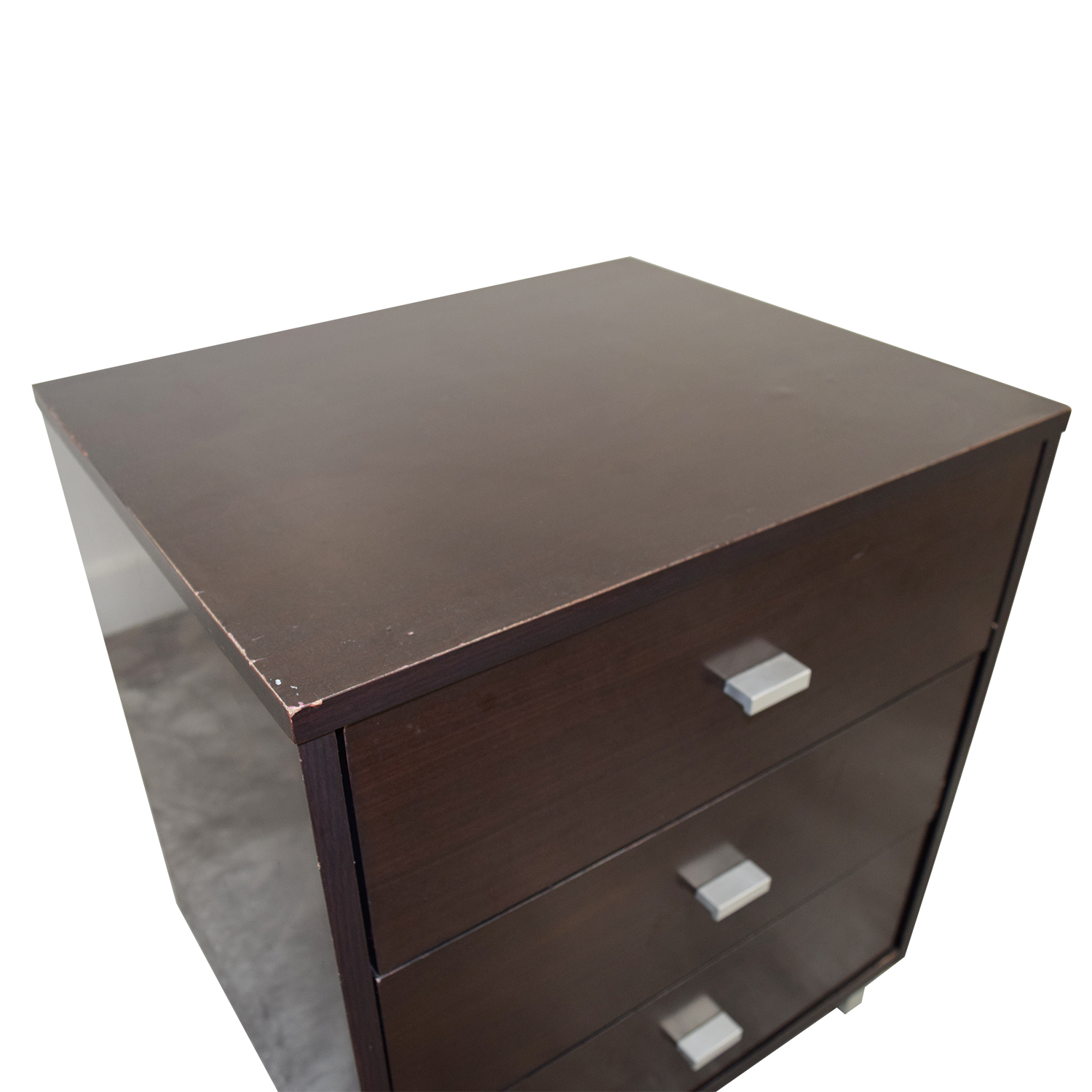 buy Modern Three-Drawer Nightstand End Tables