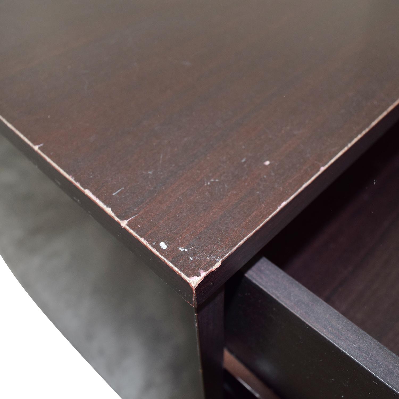 Modern Three-Drawer Nightstand / Tables