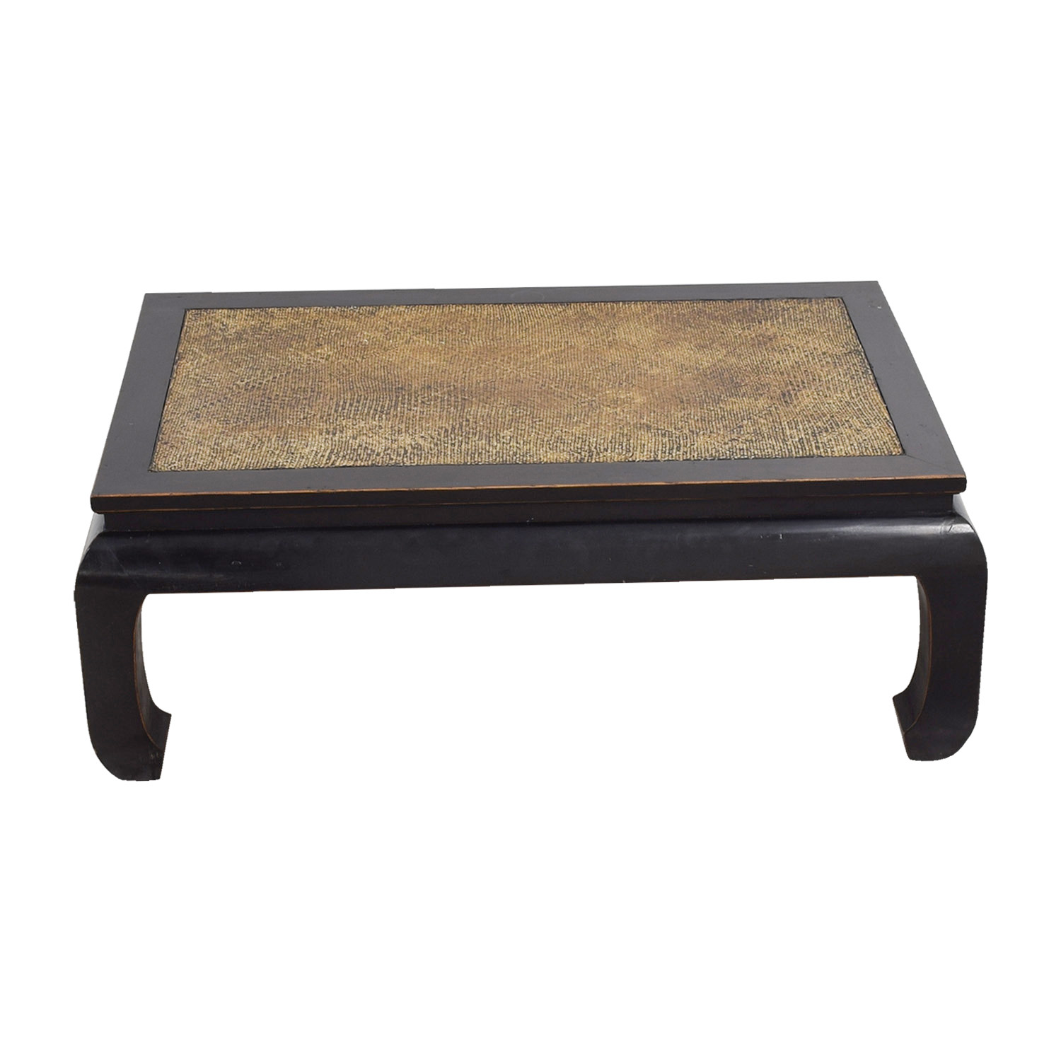 Antique Chinese Coffee Table Brown