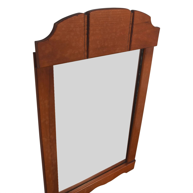 Antique Rectangle Mirror discount