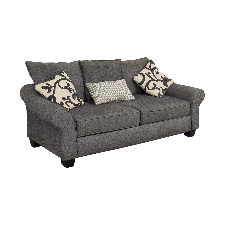 shop Grey Herringbone Sofa online